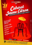 Theatre spectacle : Cabaret jaune citron