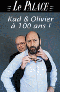 Theatre spectacle : KAD ET OLIVIER,  LE ROCK\'NROLL CIRCUS AU PALACE