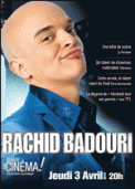 Theatre spectacle : RACHID BADOURI  ARRETE TON CINEMA !