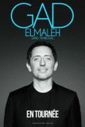 Theatre spectacle : GAD ELMALEH SANS TAMBOUR...