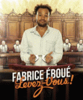 Theatre spectacle : FABRICE EBOUE FABRICE EBOUE, LEVEZ-VOUS !
