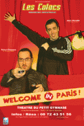 Theatre spectacle : Les colocs dans welcome in paris !