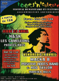Theatre spectacle : N&SK - LES CAMELEONS - PATATES RATS FESTIVAL ROOTS\' N CULTURE