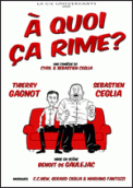Theatre spectacle : A QUOI CA RIME ?